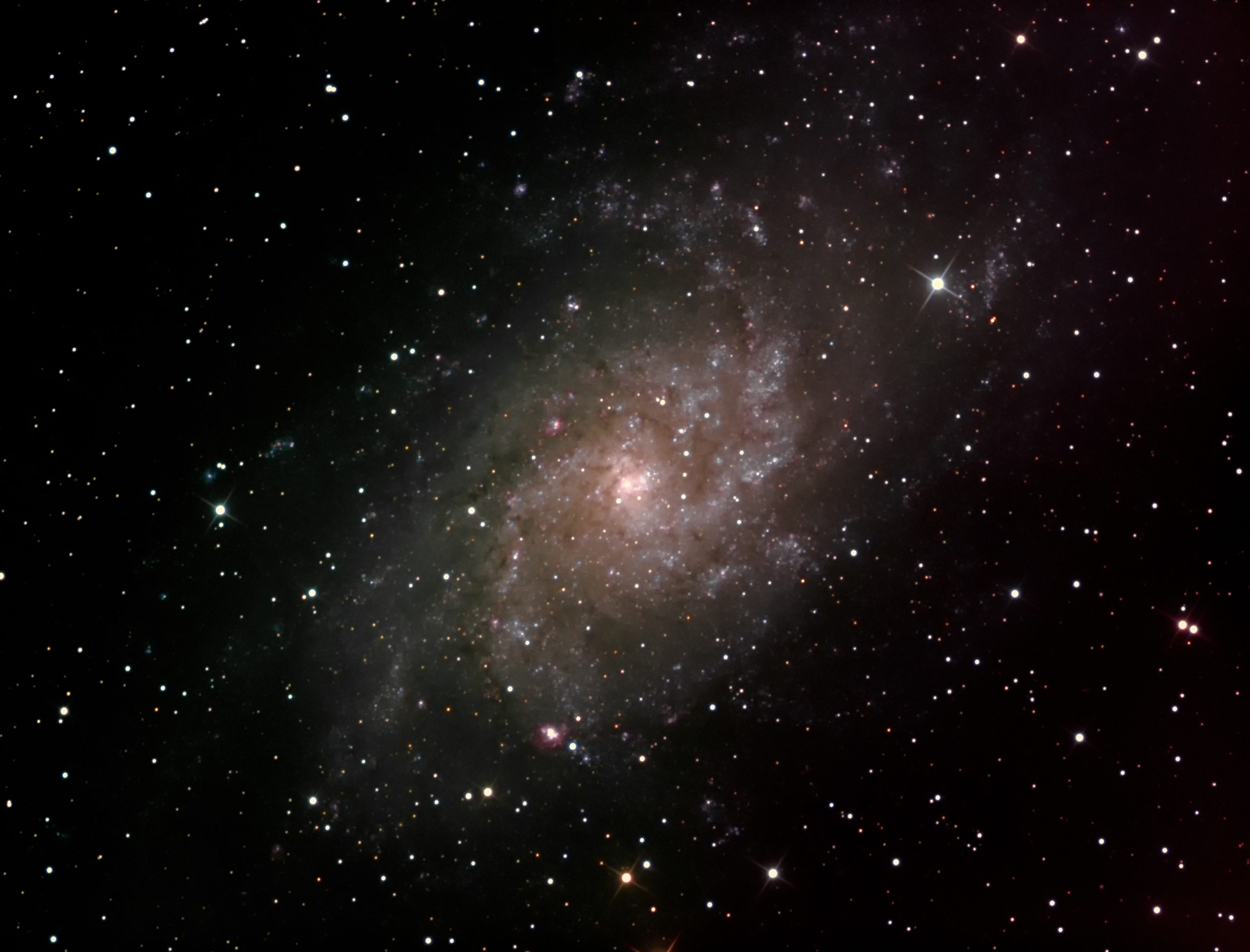 Dreiecksgalaxie M33 Thomas Schiffer